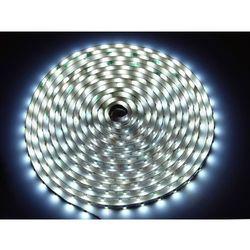 Taśma LED line 300 SMD 3528 biała zimna w powłoce silikonowej IP65 1 metr - biały zimny