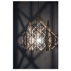 Lampa TAKAMAŁA HIMMELI - wisząca lampa ze sklejki