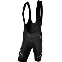 Męskie spodnie rowerowe lacl Silvini Salia MP458 black