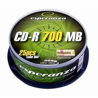 CD-R ESPERANZA [ cake box 25 | 700MB | 52x |