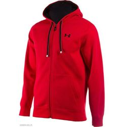 Under Armour Storm Cotton Full-Zip Hoody Red