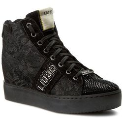 Sneakersy LIU JO - Scarpa Donna F.Do Gomma S66125 J0214 Nero 22222
