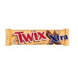 Baton Twix Xtra z ciastkami i karmelem oblany czekoladą 75 g (2 sztuki)