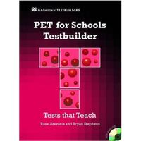 PET for Schools Testbuilder Student's Book with key & CD Pack (opr. miękka)