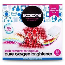 Ekologiczny Odplamiacz do Kolorów Pure Oxygen, 12 tabletek, ECOZONE