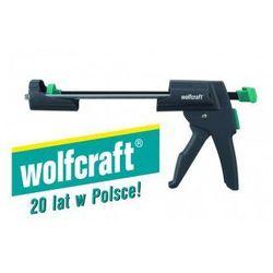 WOLFCRAFT Mechaniczny pistolet - wyciskacz do tub MG 600 PRO 4356000 (ZNALAZŁEŚ TANIEJ - NEGOCJUJ CENĘ !!!)