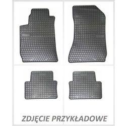 Dywaniki gumowe czarne z kompletem stoperów - Suzuki Alto od 2009