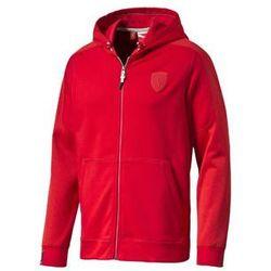 Bluza męska Puma Ferrari Full Zip Hoodie rosso corsa