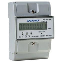 Orno Licznik zużycia energii elektrycznej 3F 5(80)A OR-WE-505