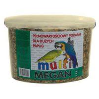 MEGAN Pokarm dla dużych papug 3l