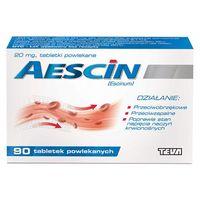 Aescin 20 mg, 90 tabletek powlekanych