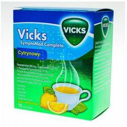 Vicks cytrynowy proszek 10 sasz.