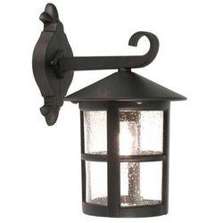 Zewnętrzna LAMPA ścienna HEREFORD BL21/G Elstead KINKIET metalowa OPRAWA ogrodowa IP43 outdoor czarny