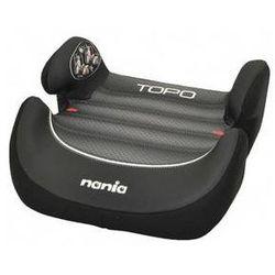 Fotel samochodowy Nania Topo Comfort 2014 Graphic Black First 15-36 kg Czarna