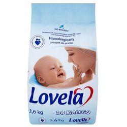 LOVELA 3,6kg Białe Proszek do prania dla dzieci (22 prania)