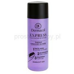 Dermacol Express zmywacz do paznokci bez acetonu + do każdego zamówienia upominek.