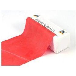 Taśma do ćwiczeń 1m x 14cm - 6kg - czerwona