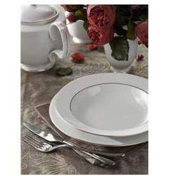 Zestaw obiadowy dla 6 osób porcelana MariaPaula Złota Linia