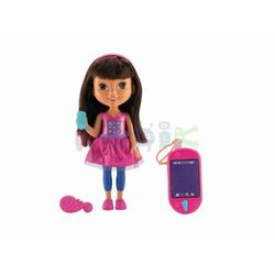 Dora mówiąca ze smartfonem Fisher Price