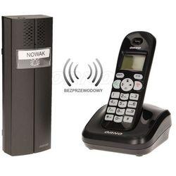 Bezprzewodowy tele-domofon czarny PORTA ORNO