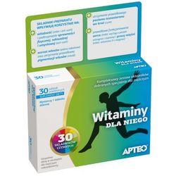 Witaminy dla Niego APTEO 30 tabletki