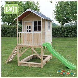 Domek dla dzieci do ogrodu EXIT Loft 500 naturalny + GRATIS