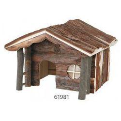 Domek dla gryzoni drewniany Knut Rozmiar:40 × 25 × 35 cm
