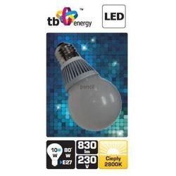 Żarówka LED TB Energy E27 230V 10W biały ciepły 830 lumenów - PROMOCJA!!!