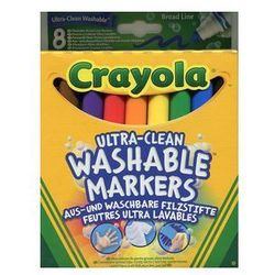 Crayola Flamastry super spieralne 8 sztuk
