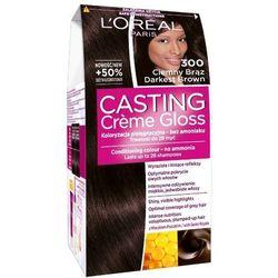 LOREAL Paris Casting Creme Gloss 300 Ciemny brąz Farba do włosów