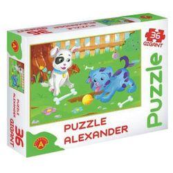 ALEXANDER Puzzle 36 EL. Gigant Małe Psy