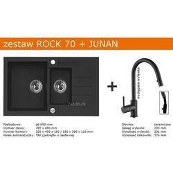 Zestaw AVLEUS ROCK 70 + JUNAN (kolor CZARNY)