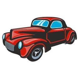 Naklejka kolorowa samochód 112