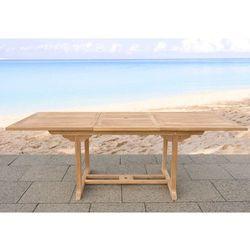 Stół ogrodowy z drewna akacji- rozkładany - JAVA