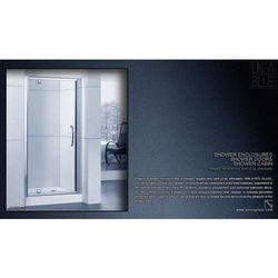 DRZWI PRYSZNICOWE AXISS GLASS AXP090WS 900mm