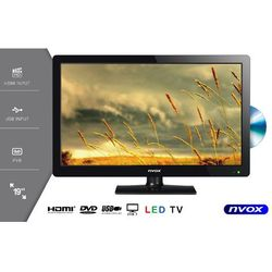 "Telewizor LED 19"" DVD USB HDMI VGA DVB-T MPEG-4/2 12V 230V"