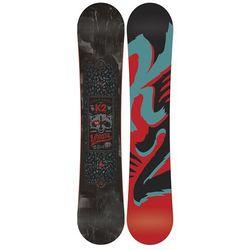 Snowboardy Vandal + Vandal M (TEST SNB) Czarny/Wielobarwny 142