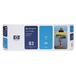 Tusz HP 83 / C4941A Cyan UV do drukarek (Oryginalny) [680 ml]