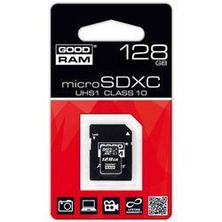 karta pamięci GOODRAM microSDXC 128GB class 10 UHS-I + adapter SD