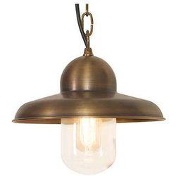 Zewnętrzna LAMPA wisząca SOMERTON CH BR Elstead ZWIS metalowy OPRAWA ogrodowa IP44 outdoor mosiądz