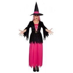 Czarownica Melody różowa - stroje dla dorosłych