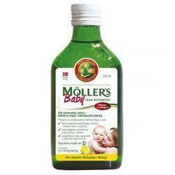 Mollers Baby Tran norweski cytrynowy 250 ml (Peter Moeller)