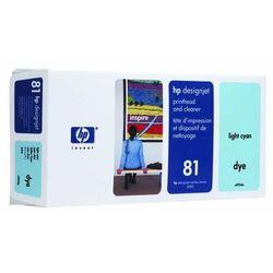 HP oryginalny głowica drukująca C4954A, No.81, light cyan, HP DesignJet 5000, PS, UV, 5500, PS, UV