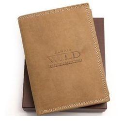 Portfel męski skórzany Always Wild N4 MHU LB