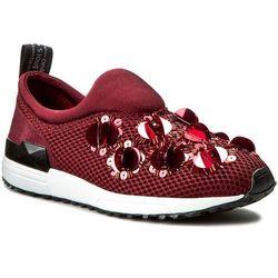 Sneakersy LIU JO - Scarpa Donna Tess. F.Do Gomma S66061 J9038 Red Wine 91726