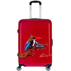 a3abd25ca920b BG Berlin URBE średnia walizka na 4 kółkach 65 cm / Tropical Sound Red -  Tropical