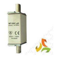 Wkładka topikowa zwłoczna gg WT-00C 50A, bezpiecznik przemysłowy ETI