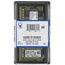 Kingston DDR4 SO-DIMM 8GB 2133MHz (1x8GB) KVR21S15D8/8- wysyłka dziś do godz.18:30. wysyłamy jak na wczoraj!