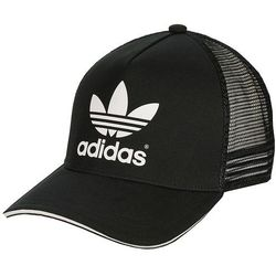 czapka z daszkiem adidas Originals AC Trucker - Black/White