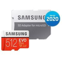 Karta pamięci SAMSUNG MB-MC512HA/EU microSDXC EVO Plus 512GB + adapter SD